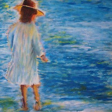 Beach walker by oldfool148