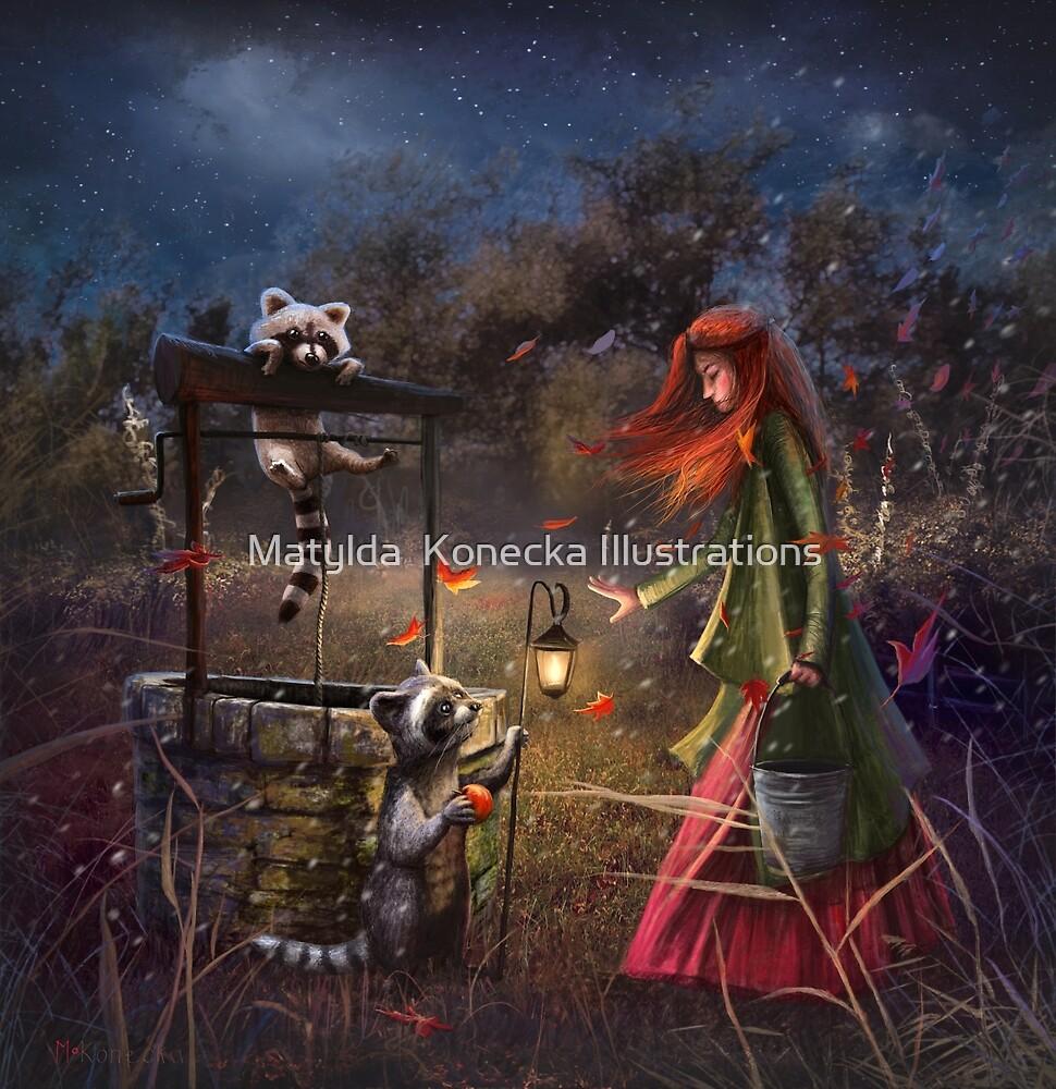 """First Snow"" by Matylda  Konecka Illustrations"