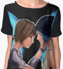 life is strange love Women's Chiffon Top