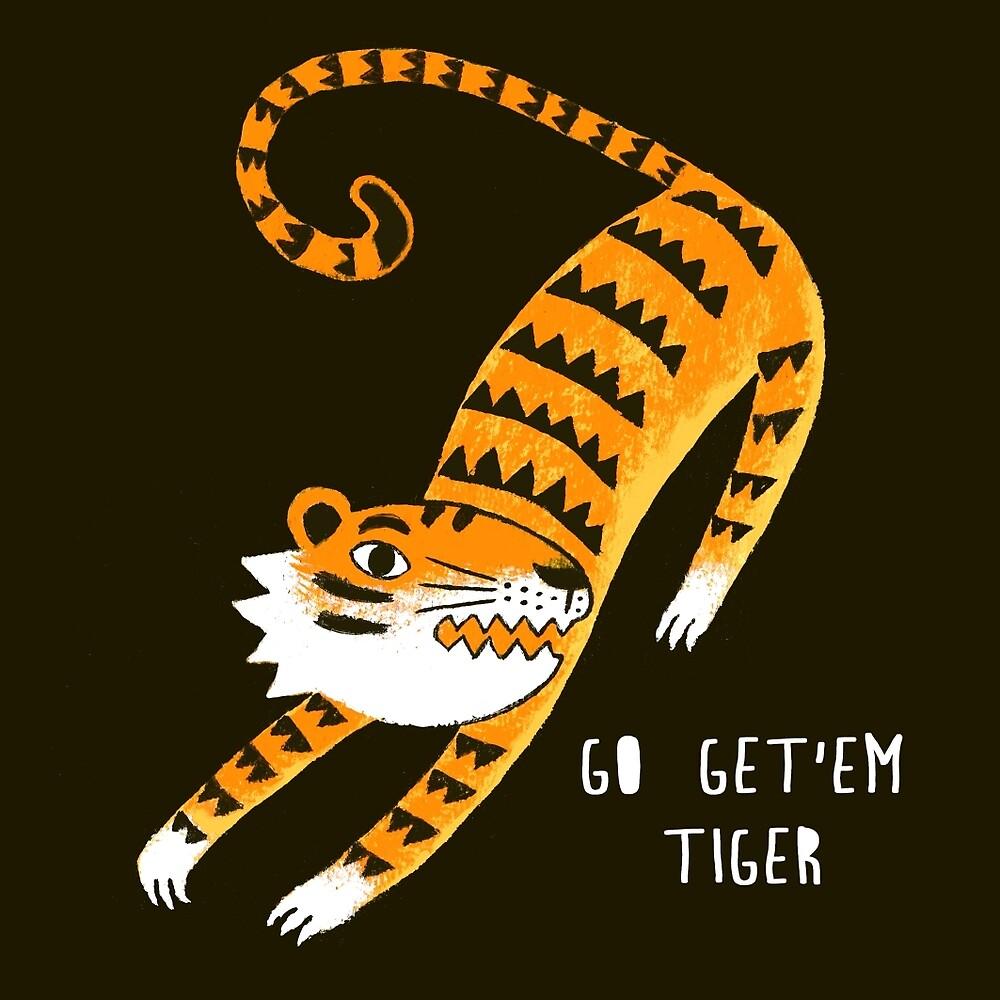 Go get'em Tiger by HuiSkipp