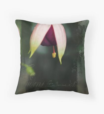 French Fushia Throw Pillow