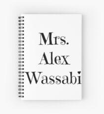 Mrs. Alex Wassabi Spiral Notebook