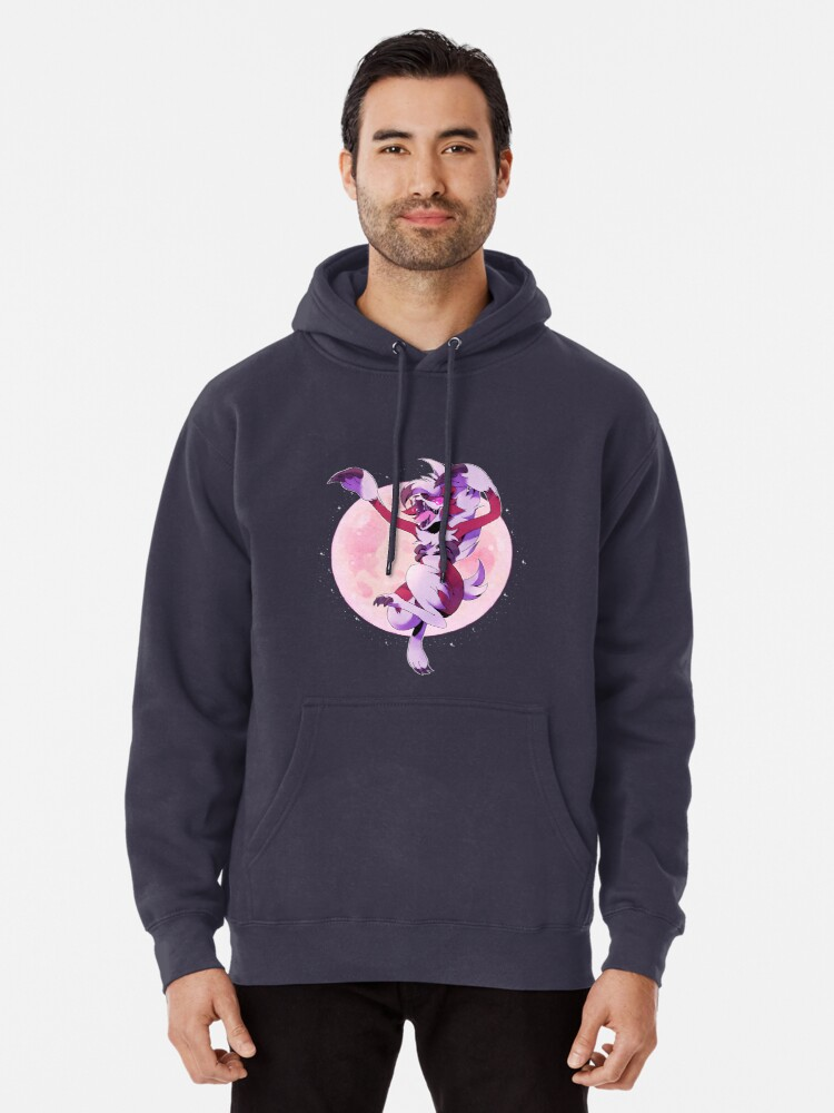 Quot Midnight Lycanroc Quot Pullover Hoodie By Stegosaur Redbubble