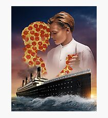 Titanic Pizza Photographic Print