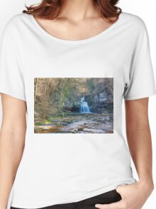 Autumn at Cauldron Falls Women's Relaxed Fit T-Shirt