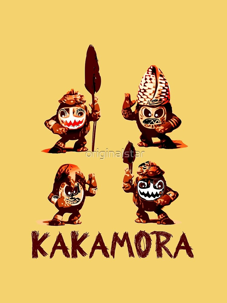 Kakamora Sudsee Kokusnuss Krieger Tahitii By Originalstar