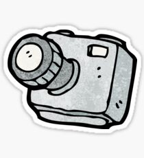 cartoon camera Sticker