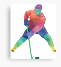Hockey Metal Print