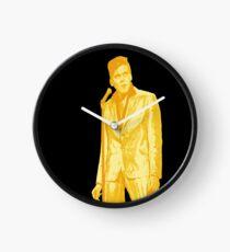 Billy Fury GOLD Clock