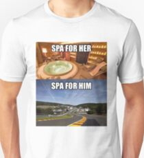 Spa for Him & Spa for Her Unisex T-Shirt