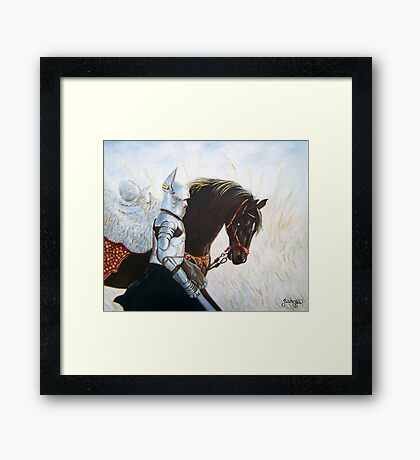 Defenders of Truth - The Narrow Road of Faith Framed Print