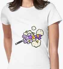 cartoon magic wand Women's Fitted T-Shirt