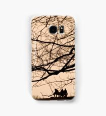 Parliament Hill Dog Walking Silhouette Samsung Galaxy Case/Skin