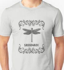 DRAGONFLY-SASSENACH paper Unisex T-Shirt