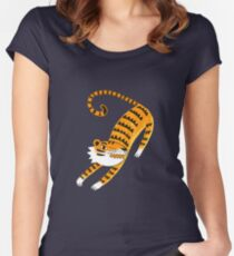 Go get'em Tiger Women's Fitted Scoop T-Shirt
