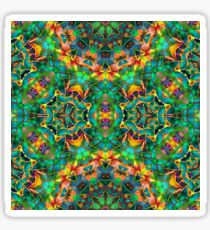 Fractal Floral Abstract G87 Sticker