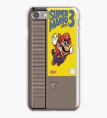 NES Mario 3 Cartridge  iPhone Case/Skin