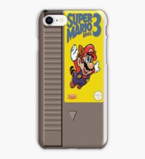 NES Mario 3 Cartridge  iPhone Case/Skin