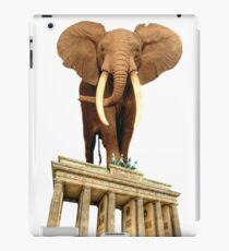 space elephant iPad Case/Skin