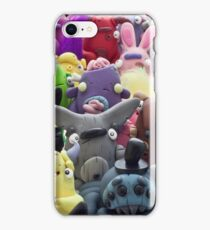 creepy collage iPhone Case/Skin
