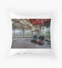 old dodgems shipley west yorkshire  Throw Pillow