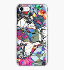 Abstract Geometric Web iPhone Case/Skin