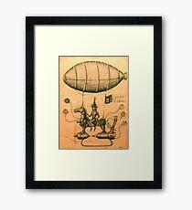 Sky Rider Framed Print
