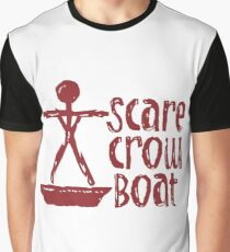 Scarecrow Boat Graphic T-Shirt