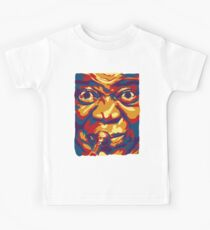 Louis Armstrong Colorful Portrait Design  Kids Tee