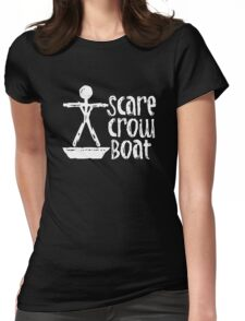 Scarecrow Boat Womens Fitted T-Shirt