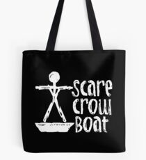 Scarecrow Boat Tote Bag