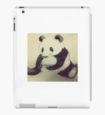 Panda playing Playstation  iPad Case/Skin