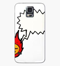 Funda/vinilo para Samsung Galaxy talking meteor cartoon