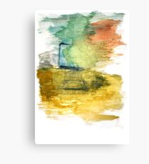Water Strokes | The Desk | Canvas Print