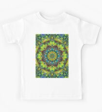 Fractal Floral Abstract Kids Tee
