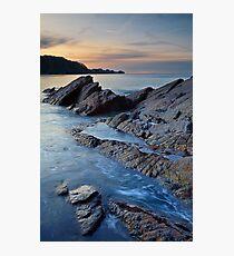 Combe Martin, Devon Photographic Print