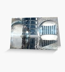 Heavenly Architectures // Anywhere But Here Greeting Card