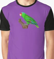 Mexican Red-crowned Amazon Parrot Graphic T-Shirt