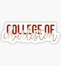 College of Charleston - Style 13 Sticker