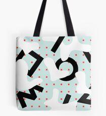 spots vs lines Tote Bag