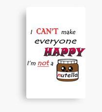 Nutella Canvas Print
