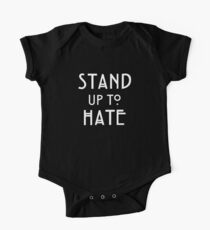 Stand Up To Hate and Racism  One Piece - Short Sleeve