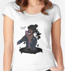 Teen Titans Raven  Women's Fitted Scoop T-Shirt