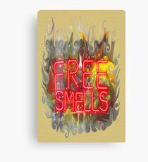 FREE SMELLS !!! Canvas Print