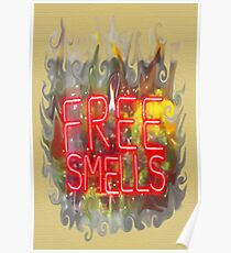 FREE SMELLS !!! Poster