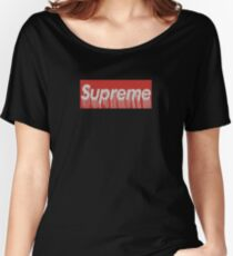 Drip Supreme Women's Relaxed Fit T-Shirt