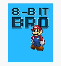 Mario - 8-Bit Bro Photographic Print