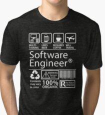 Software Engineer Tri-blend T-Shirt