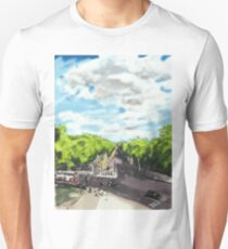 The View from the top of Wellington Arch Unisex T-Shirt