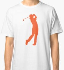 Rickie Fowler Silhouette Golf T-Shirt Classic T-Shirt